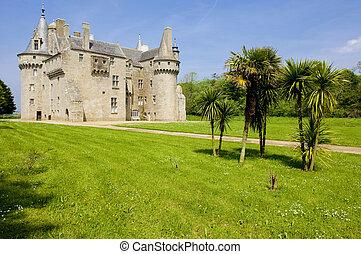 Chateau de Kerouzere, Brittany, France