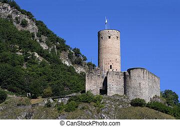 Chateau de la Batiaz in Switzerland - Photo of Chateau de la...
