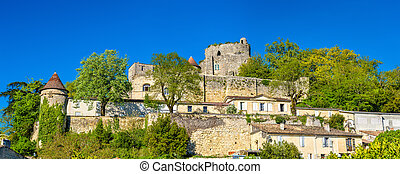 Chateau de Langoiran, a medieval castle in Gironde, France