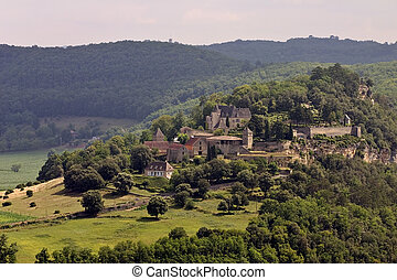 Chateau de Marqueyssac, Dordogne (Perigord), Aquitaine, France