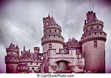 chateau de pierrefonds in france