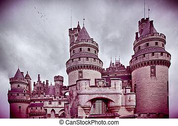 chateau, de, pierrefonds
