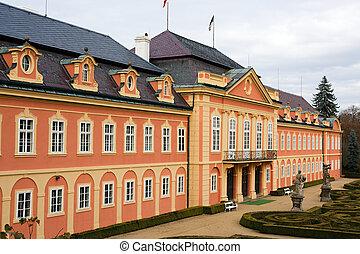 Chateau Dobris, Europe, Czech Republic