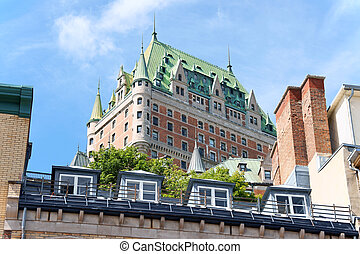 Chateau Frontenac Hotel in Quebec City, Canada - Chateau...