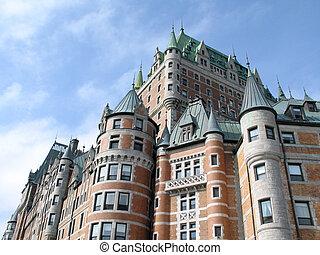 chateau frontenac, quebec, canada