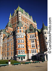 Quebec City - Chateau Frontenac - The most famous landmark ...