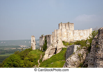 Chateau Gaillard in France