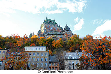 chateau, in, quebec stadt, kanada