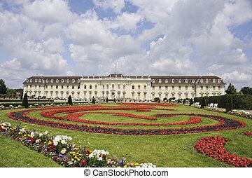 Chateau Ludwigsburg - Ludwigsburg Castle near Stuttgart is...