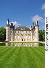 chateau, pichon, bordeaux, frankreich