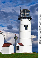 Chatham Lighthouse at Cape Cod - Chatham Lighthouse, built ...