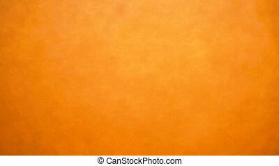 chatoiement, sous-marin, irréel, coloré, arrière-plan orange