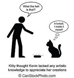chaton, furball