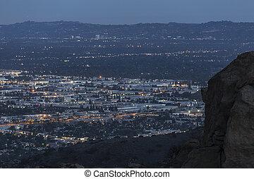 Chatsworth California Night