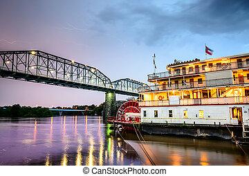 chattanooga, 테네시, 강의 배
