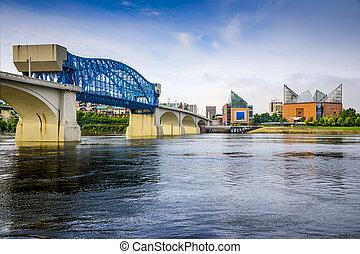 Chattanooga, Tennessee, USA city skyline.