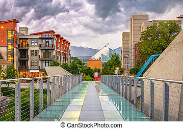 Chattanooga, Tennessee, USA Downtown