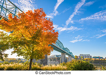 Chattanooga, Tennessee, USA Fall Season - Chattanooga,...