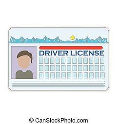 chaufför, licens