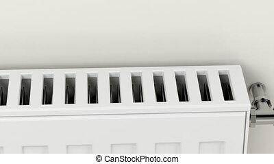 chauffage central, radiateur