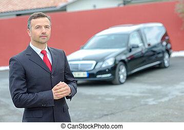 chauffeur, limousine