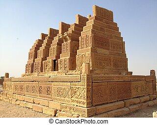 Chaukandi Tombs