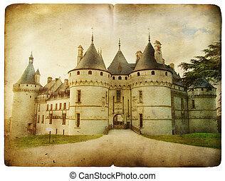 chaumont, castello, loira,