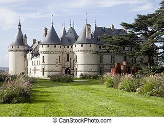 Chaumont sur Loire. France. Chateau of the Loire Valley.