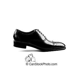 chaussure - Chaussure noire hommes.