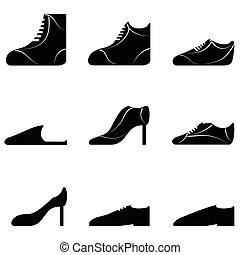 chaussures, collection