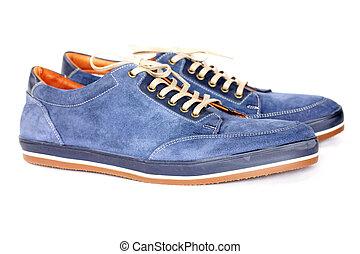 chaussures hommes, daim