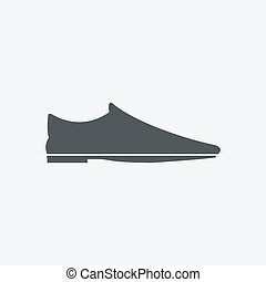 chaussures, icône