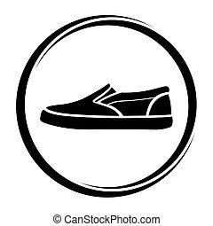 chaussures, signe