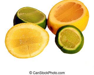 chaux citron, -