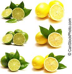 chaux citron