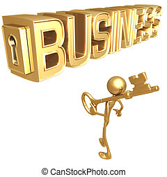 chave ao negócio