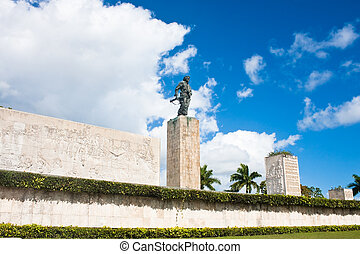 Che Guevara mausoleum in Santa Clara, Cuba. Symbol of...
