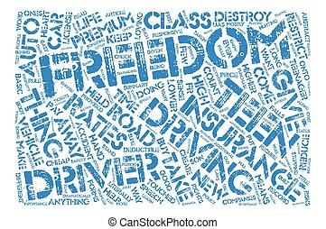 Cheap Auto Insurance For Teenagers text background word cloud concept
