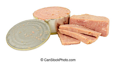 Cheap Canned Ham - Cheap low quality processed canned ham...