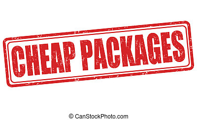 Cheap packages stamp