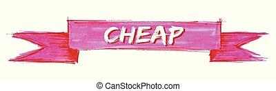 cheap ribbon - cheap hand painted ribbon sign