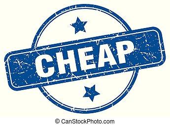cheap round grunge isolated stamp