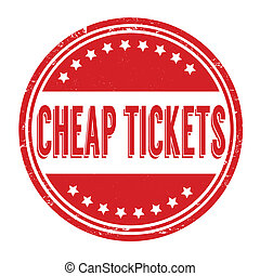 Cheap tickets stamp