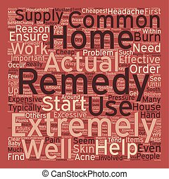 Cheapest Home Remedies 1 text background wordcloud concept