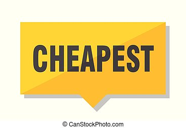 cheapest price tag
