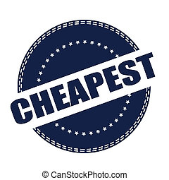 cheapest stamp