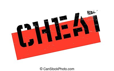 Cheat rubber stamp