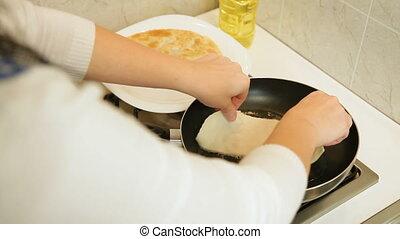 Chebureki Fried In Oil