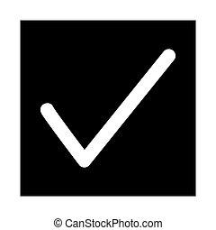 Check Button Web Icon - msidiqf