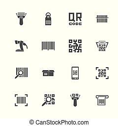 Check Code - Flat Vector Icons